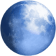 lune pale
