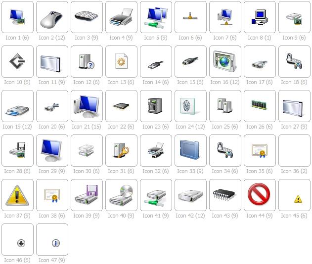 setupapi.dll icons